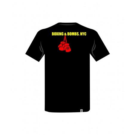 camiseta guantes para combate el bronx