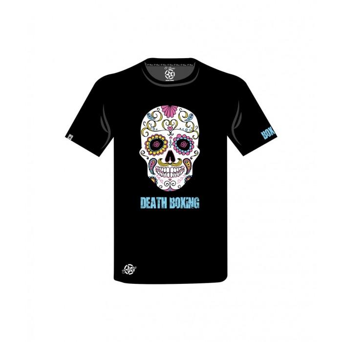 camiseta de calavera o catrina en colores de el bronx