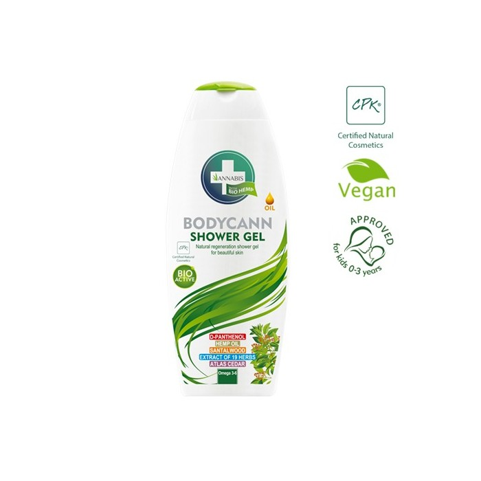 BODYCANN GEL DE DUCHA 250ML