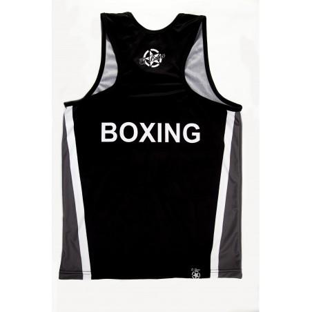 camiseta deportiva de el bronx en color negro y laterales gris