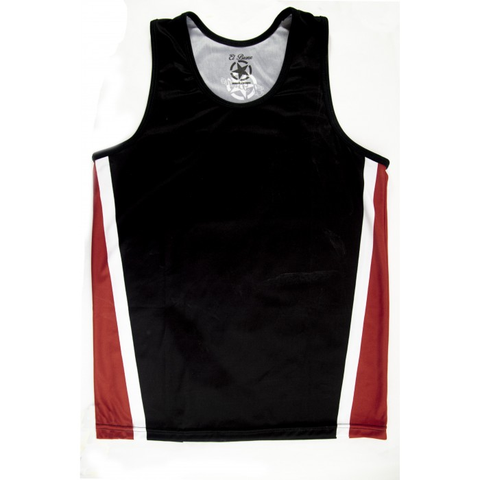 CAMISETA SAVATE BLACK/RED BRONX WITH...