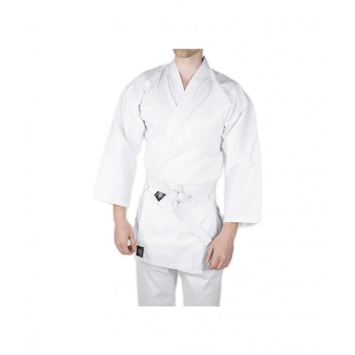 uniforme completo de karate traje completo de artes marciales en color blanco de el bronx