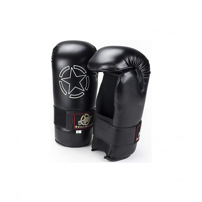 guantillas de karate negras de el bronx