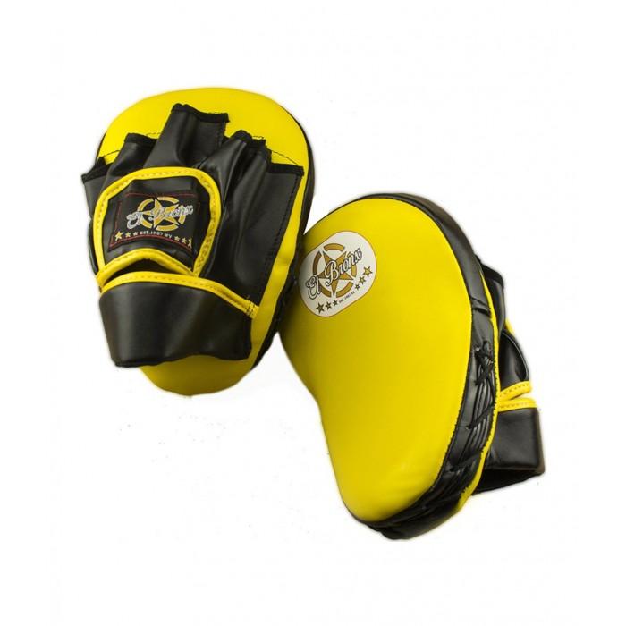 manopla de entrenamiento pequeña, color amarillo