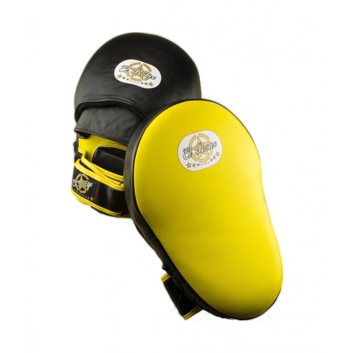 manopla de entrenamiento grande, color amarillo