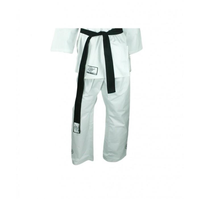 pantalon de karate, kung fu, artes marciales, de color blanco de el bronx