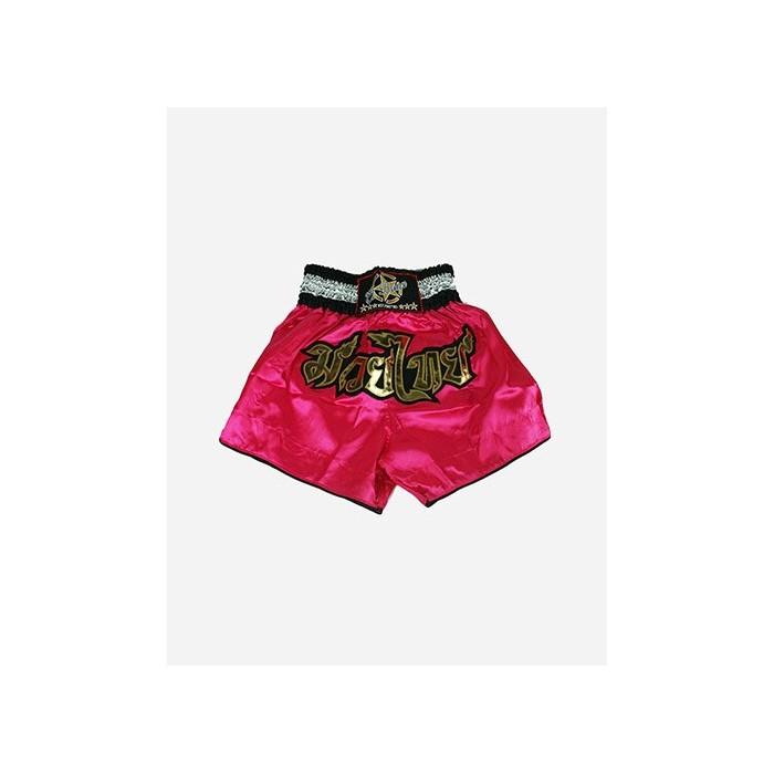 pantalón muay thai originals niños rosa