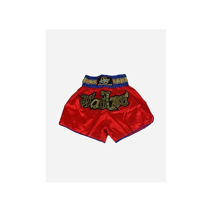 pantalón muay thai originals niños rojo