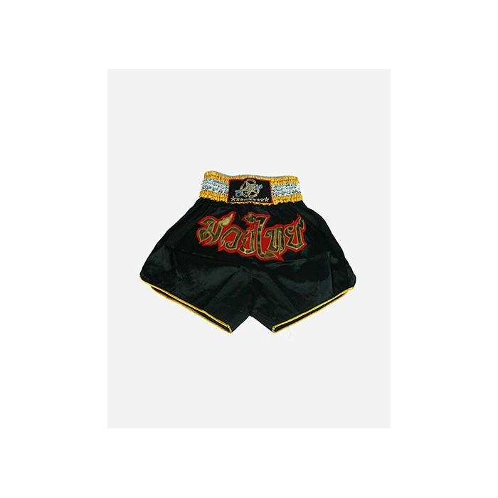 pantalón muay thai originals niños negro