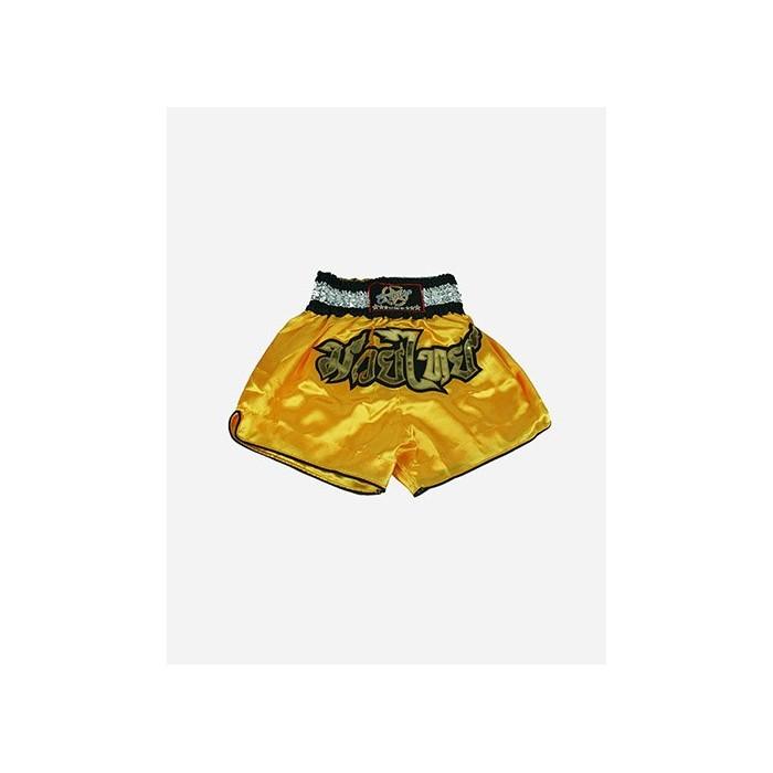 pantalón muay thai originals niños amarillo