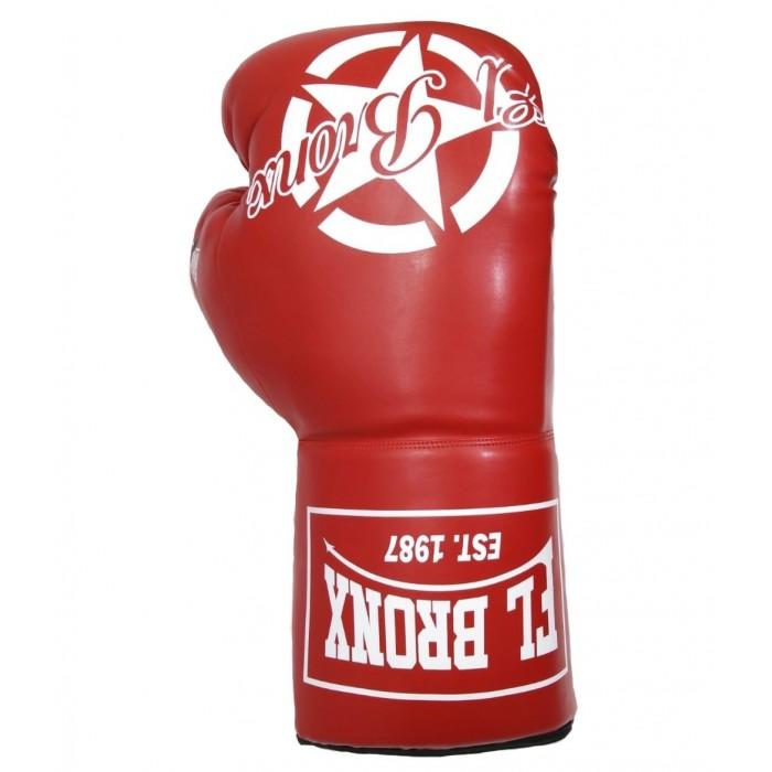 souvenir, guante de boxeo gigante color rojo