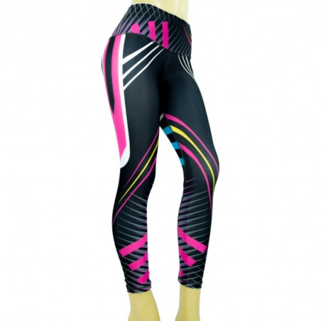 leggings para fitness, multicolor