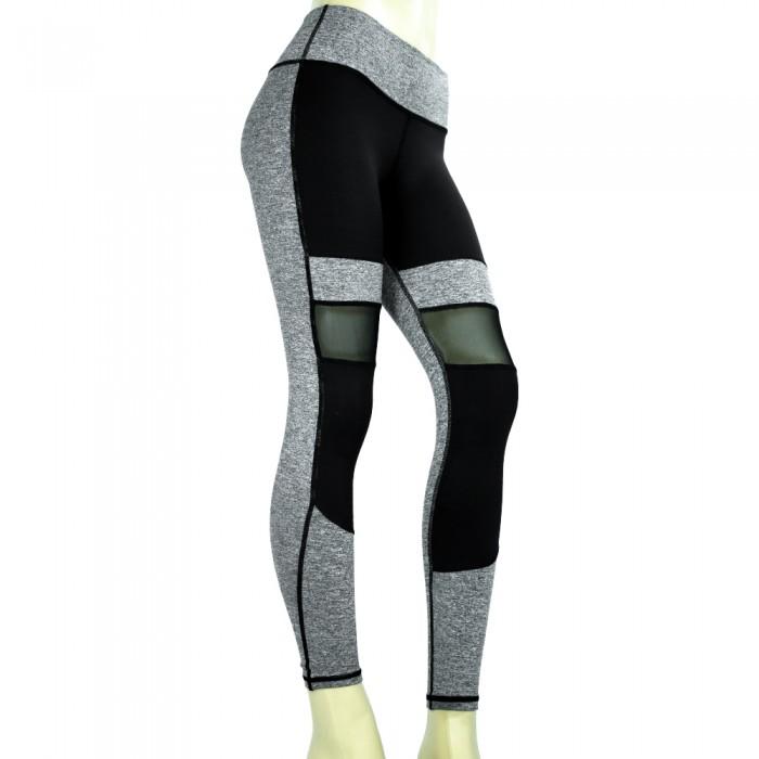 leggings athletics wear, color gris