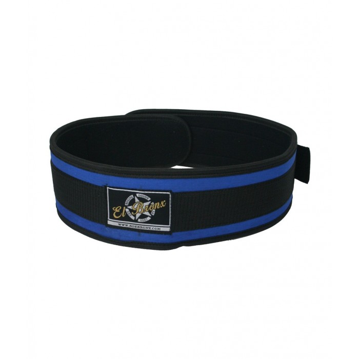 cinturón de mujer para levantamiento de peso, color azul