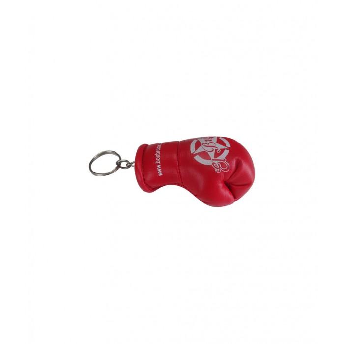 llavero guante de boxeo color rojo