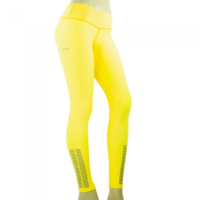 leggings deportivo drakon, color amarillo