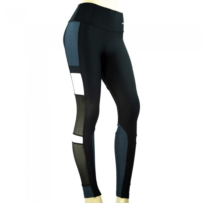 leggings deportivo drakon, color negro y blanco