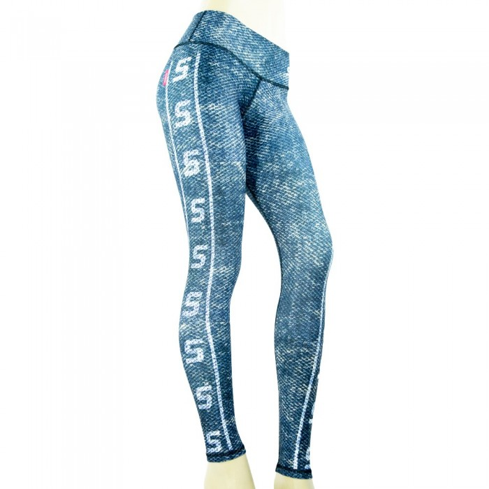 leggings deportivo drakon, color azul