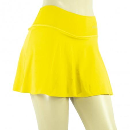 falda/short drakon, color amarillo