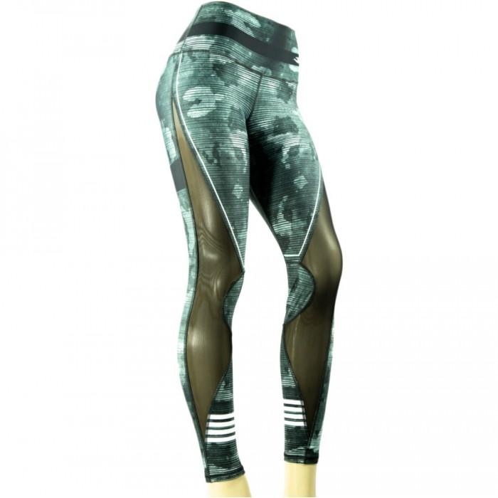 leggings para fitness color verde