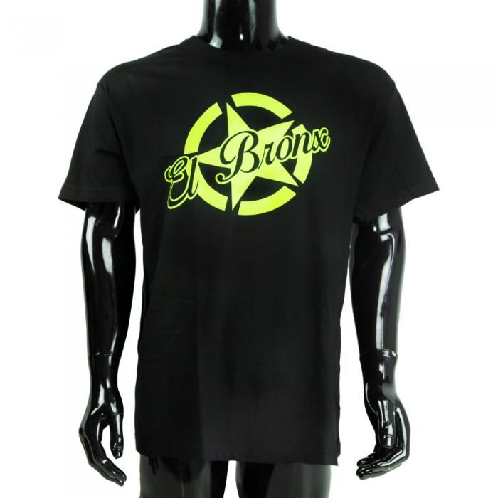 camiseta big star el bronx niños negra verde