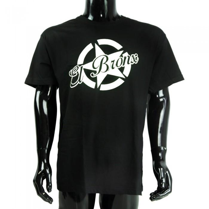 camiseta big star el bronx niños negro blanco