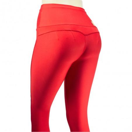 leggings para vestir, color rojo
