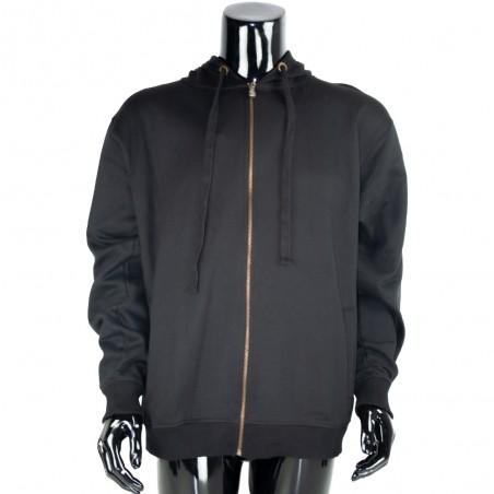chaqueta o sudadera lisa negro
