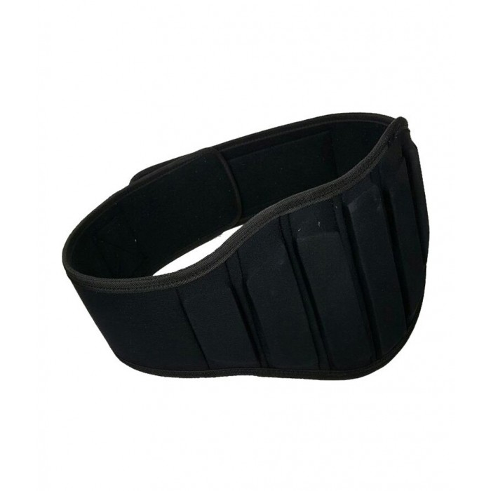 cinturón para levantamiento de pesas, color negro