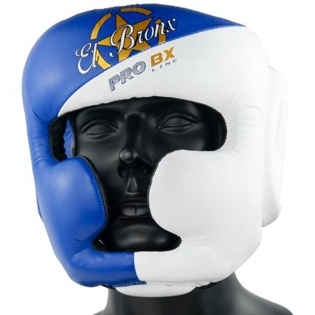 casco pro bx thai azulblanco