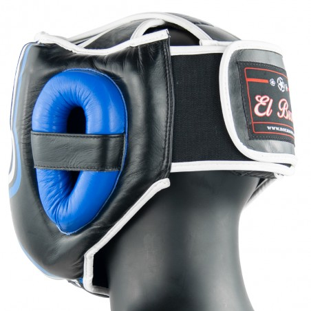 casco pómulos azulnegro w1