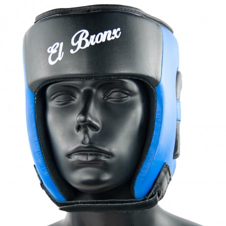 casco amateur azulnegro