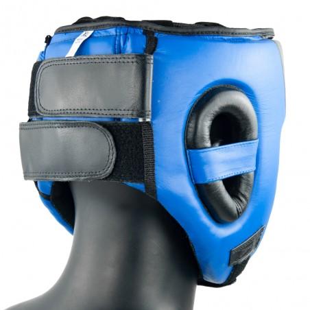casco azul negro amateur