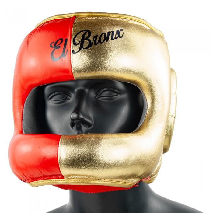 CASCO BARRA RO/OR BICOLOR EL BRONX