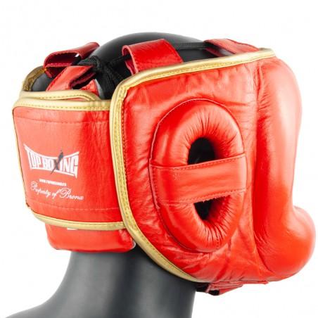 casco barra el bronx rojooro
