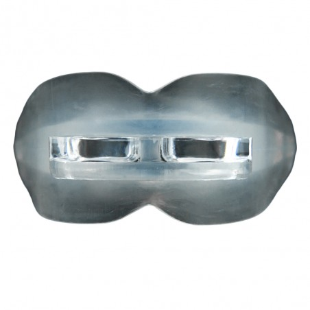 protector bucal doble transparente delante