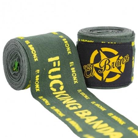 vendas semi elásticas 4 mts verdes fucking bandages