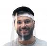 pantalla facial protectora delante