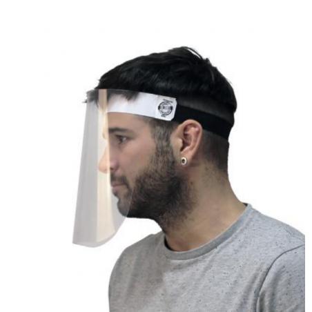 pantalla facial protectora lateral