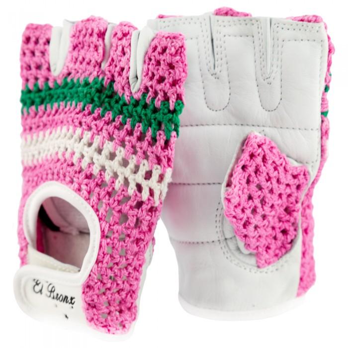 guantes para fitness, color rosa