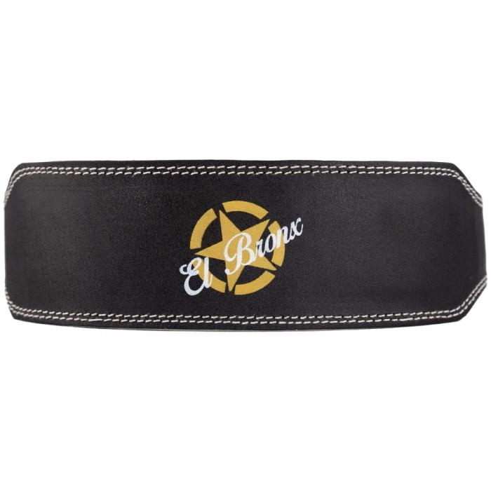 cinturón para levantamiento de peso, color negro