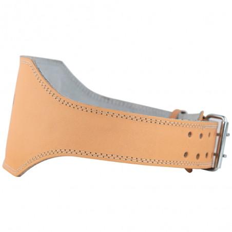cinturón para levantamiento de peso, cierre de hebillas
