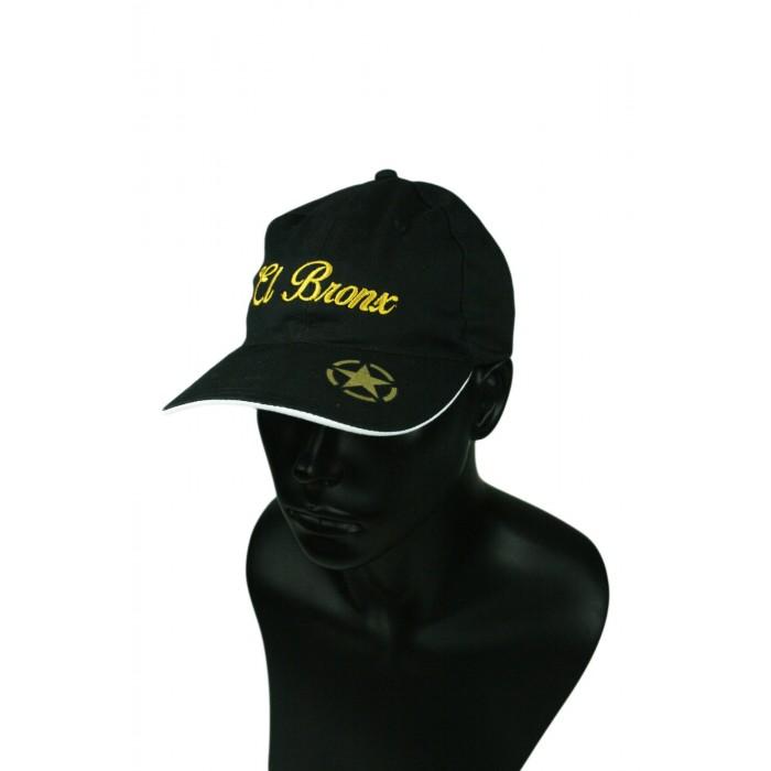 gorra negra el bronx