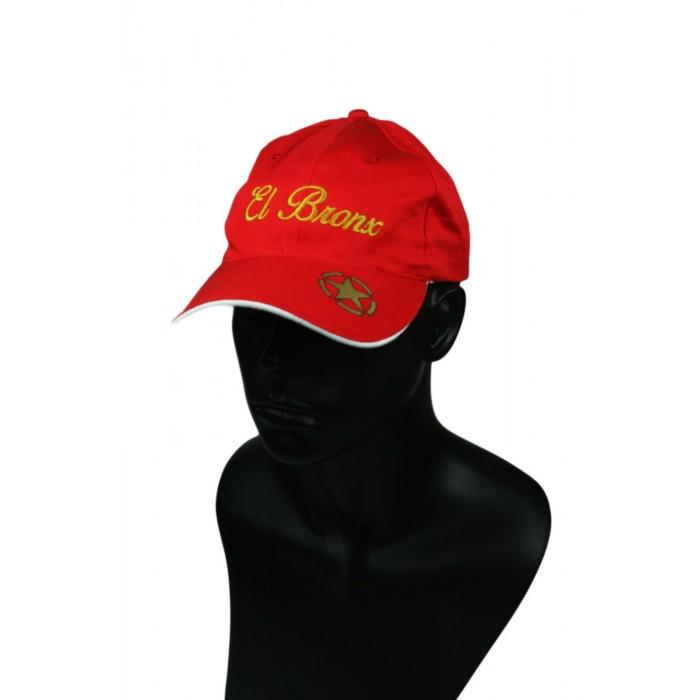 gorra roja el bronx