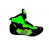 botas de boxeo competición caña media  color verde el bronx
