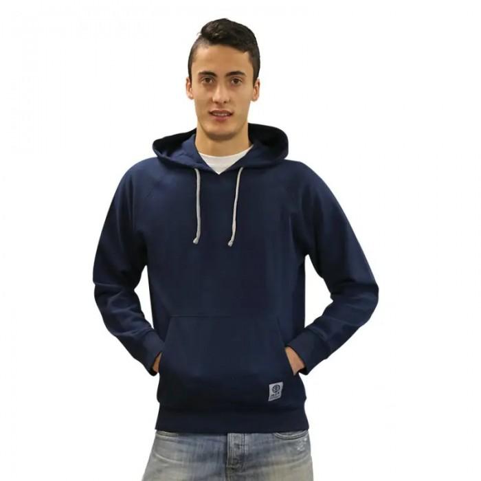 Sudadera con capucha para hombre, azul marino
