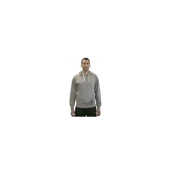 Sudadera con capucha para hombre, gris oscuro.