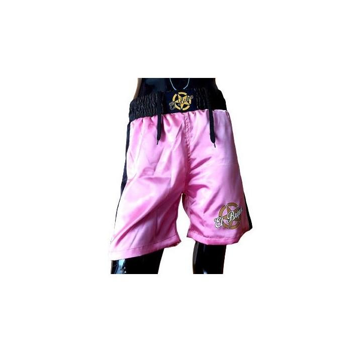 pantalón boxeo profesional niños rosa