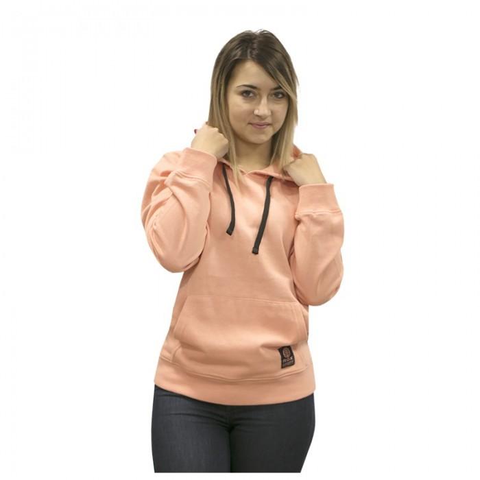 sudadera con capucha para mujer, coral