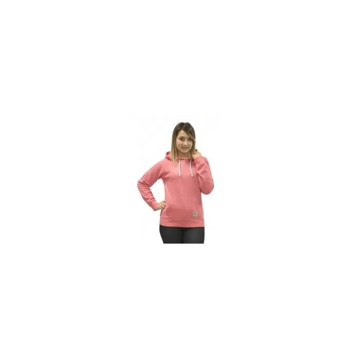 sudadera con capucha para mujer, fucsia